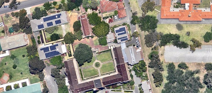 Rooftop-Solar-St-Georges-College-UWA-aerial-shot
